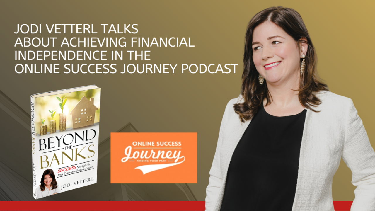 jodi vetterl talks about achieving financial independence podcast